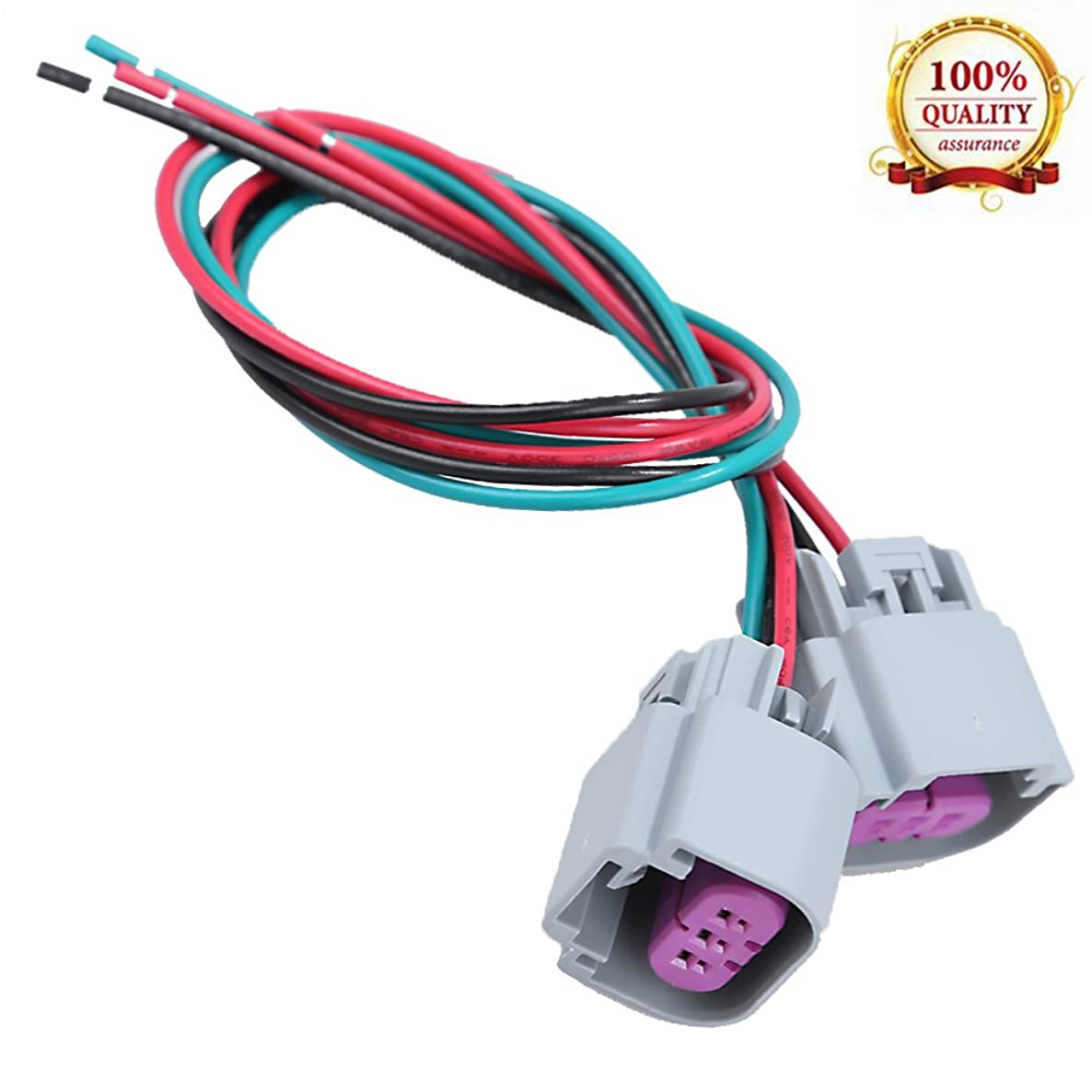 Hoypeyfiy Wire Harness Pigtail Female Connector for Nokya 9008 H13 Nok9109 Head Light Bulb Connector Fit