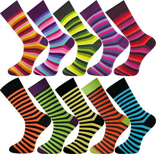 Mysocks Calcetines de diseño de tobillo unisex 10 pares 01