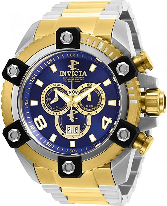 Orologio invicta mens reserve 29539 grand octane orologio da polso svizzero con cronografo