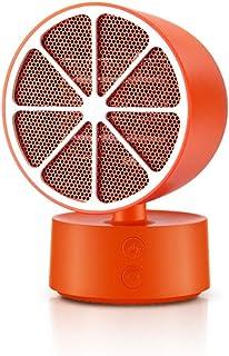 HBHHB Calefactor De Aire Caliente 350W 2 Temperatura Estufa Electrica Ángulo Ajustable Protección De Seguridad Múltiple Poco Ruido para Cuarto/Baño/Oficina 105 * 158Mm,Naranja