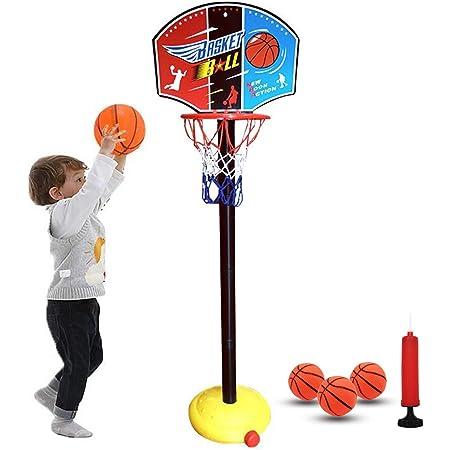URBN-TOYS Indoor Outdoor Garden Basketball Portable Freestanding Sports Toy Basket Ball Hoop