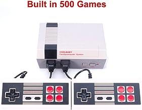 Mini console AV Retro Classic - fournie avec deux poignées de commande - 500 jeux vidéo classiques intégrés