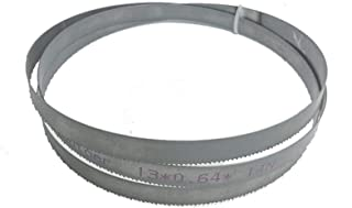 Auartmetion -Verktyg, 1 st metallbearbetning 51 x 1/2 tum x 0,2 tum eller 1 300 x 13 x 0,65 x 14 tpi bimetall M42 metallba...