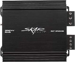 Skar Audio RP-350.1D Monoblock Class D MOSFET Amplifier with Remote Subwoofer Level Control, 350W