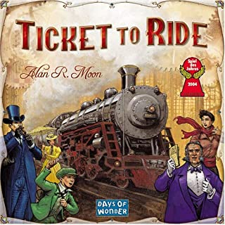 Ticket To Ride Toy For Kids , 6 Years & Above