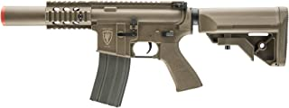 Elite Force M4 AEG Automatic 6mm BB Rifle Airsoft Gun, CQC, FDE