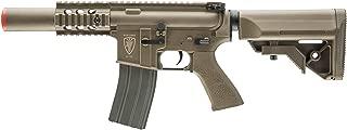 Elite Force M4 AEG Automatic 6mm BB Rifle Airsoft Gun, CQC, FDE