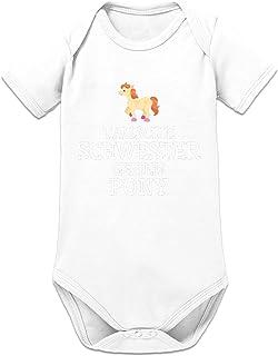 Shirtcity Tausche Schwester Gegen Pony Baby Strampler by