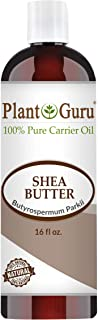 African Shea Butter Oil 16 oz. 100% Pure Natural Skin, Body And Hair Moisturizer. DIY Butters, Lotion, Cream, lip Balm & S...