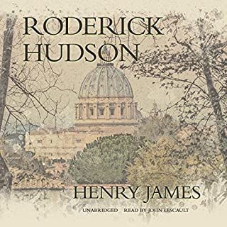 Roderick Hudson audiobook cover art