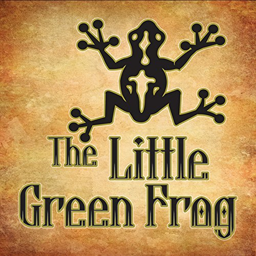 The Little Green Frog audiobook cover art