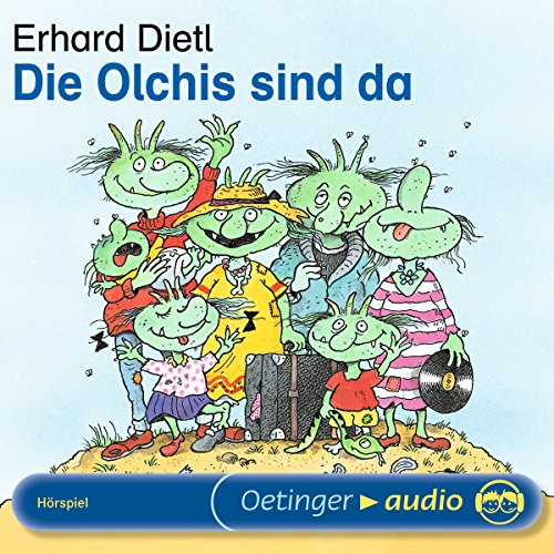 Die Olchis sind da audiobook cover art