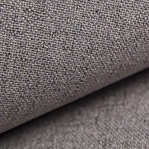 NOVELY® AUEN Premium Möbelstoff | Webstoff | fein gewebter Polsterstoff | Meterware | Bezugsstoff | 1 lfm | 23 Farben (16 Grau Taupe)