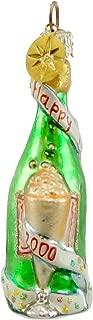 Christopher Radko 2000 CHEERS GEM Blown Glass Ornament New Year Champange