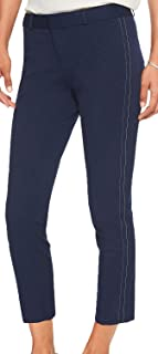 Women's Sloan Stretch Double Top Stitch Crop Pant, Navy