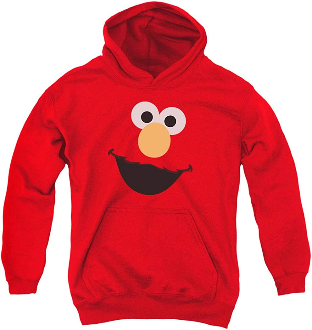 Sesame Street Character Face Hoodie Sweatshirt Pull-Over sold out Youth Minneapolis Mall