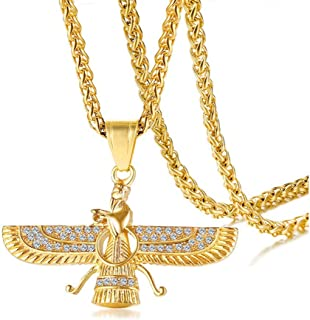 Best farvahar necklace gold Reviews