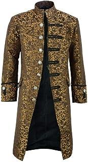Giacca da Uomo Frac Steampunk Gotico Redingote Uniforme Costume Cosplay Smoking Elegante Cappotto Jacquard retrò Vittorian...