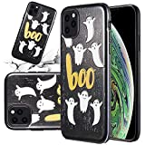Phone Case Compatible for [ Apple iPhone 11 Pro Max 2019 ] Storm Buy Shockproof Halloween Ghost Phantom Spooky Protective Sturdy Rubber Cover for iPhone 11 Pro Max (Boo)