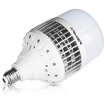 Bombillas LED E27 50W (Equivalente a 450 vatios), Blanca Fria ...