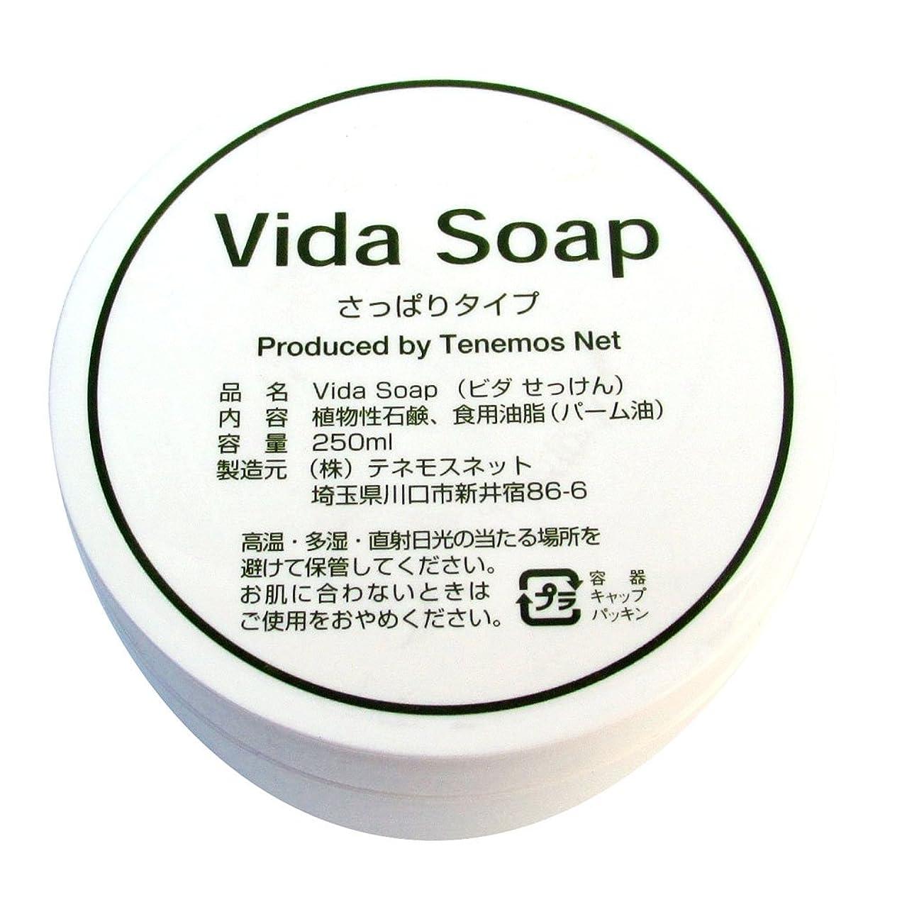 キルト期間学生テネモス ビダせっけん Vida Soap さっぱりノーマル 植物性 250ml