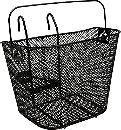 Bell Tote 510 Front Basket With Handle, Black