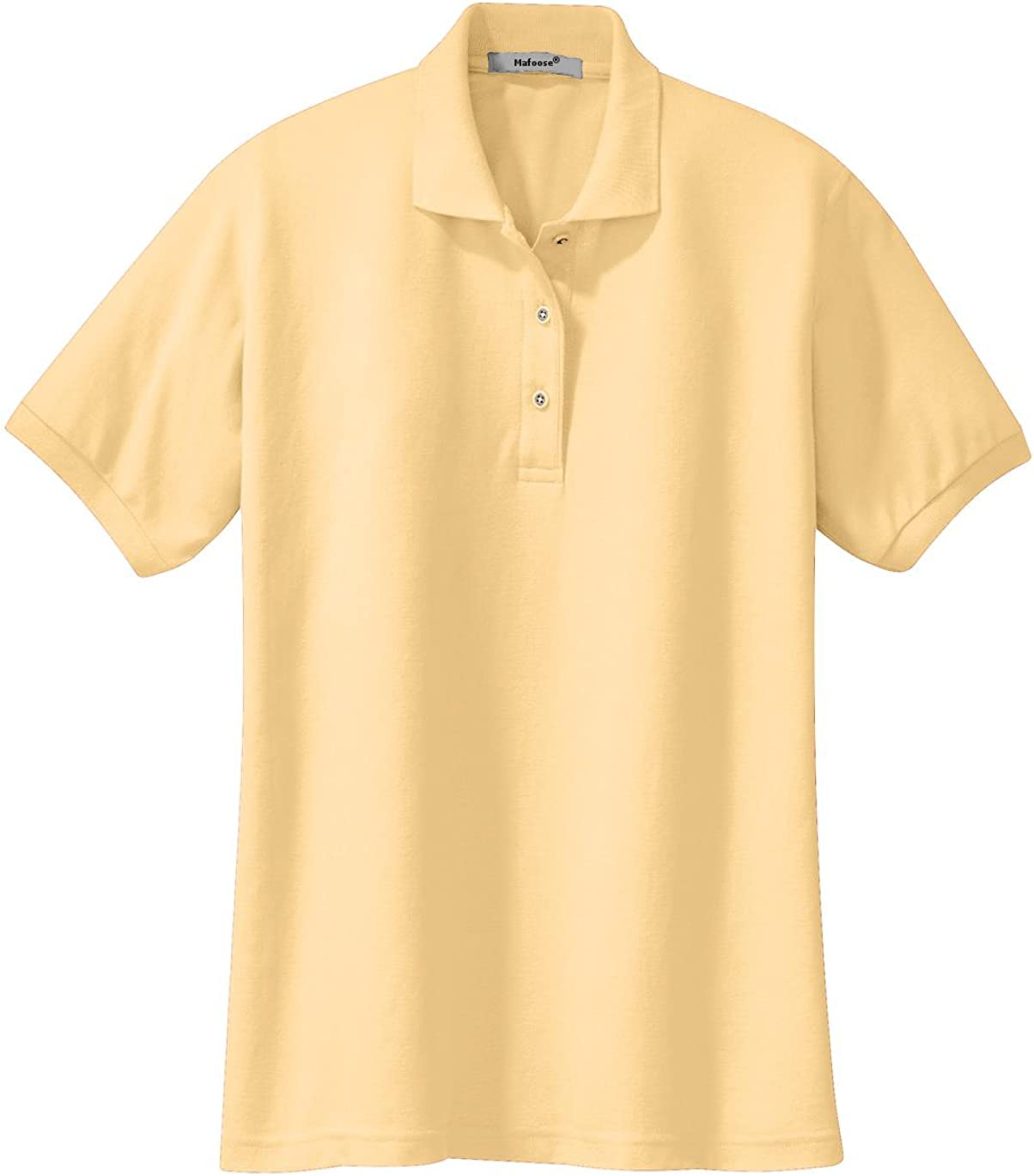 Mafoose Womens Silk Touch Classic Polo Shirt