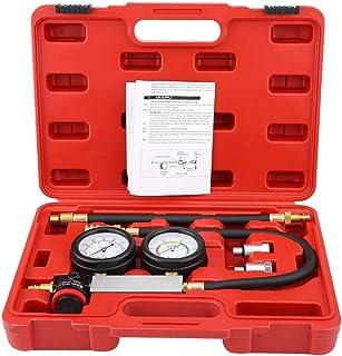 Perdite Motor A Benzin Motor, Kit von Perdite Kompression für Test Hubraum Auto Kit Pressions Werkzeug Diagnostik A Doppeldruck