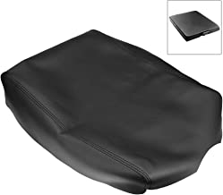 QKPARTS Leather Center Console Lid Armrest Cover For 2004-2014 Nissan Titan Black NEW