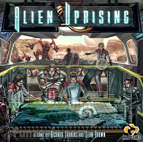Mr. B Games MBG01001 Alien Uprising Core Game, Brettspiel