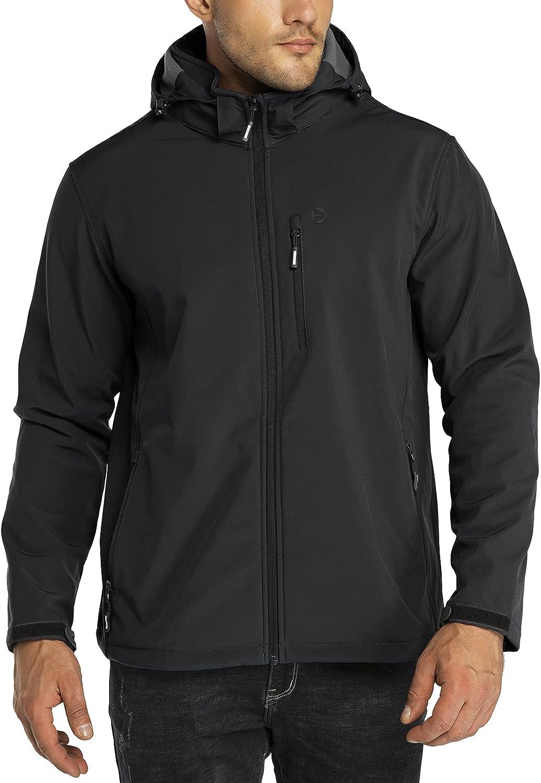 Outdoor Ventures Men's Tactical Softshell Fleece Jacket Hooded Award Purchase L