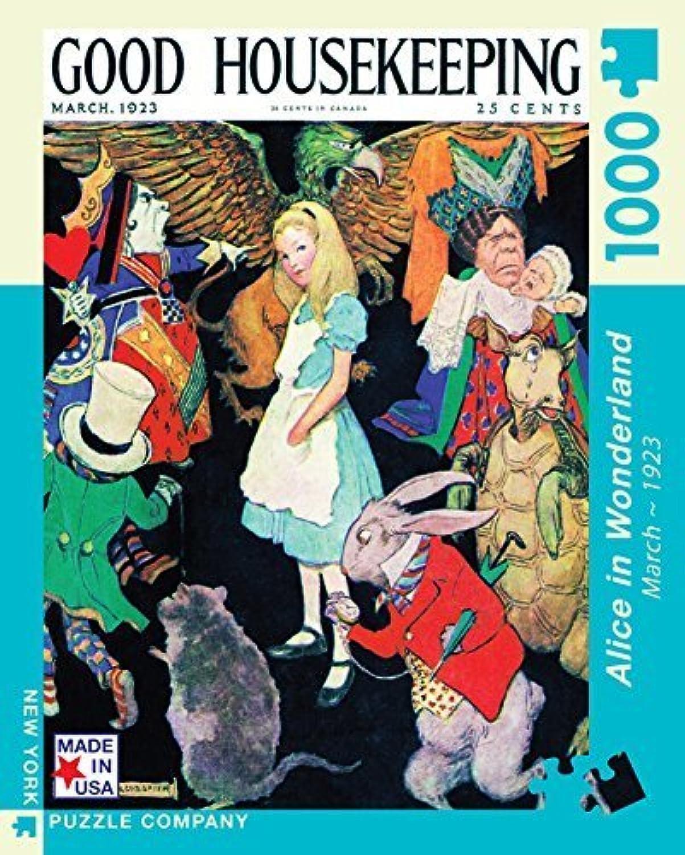 comprar nuevo barato New York Puzzle Company - - - Good Housekeeping Alice in Wonderland - 1000 Piece Jigsaw Puzzle by New York Puzzle Company  el mas reciente