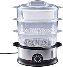 DIAOD Home Electric Food Steamer Multifunctional Steamer Pot Automatic Power-Of 3-Layer Large Capacity Seafood Steamer Cooker