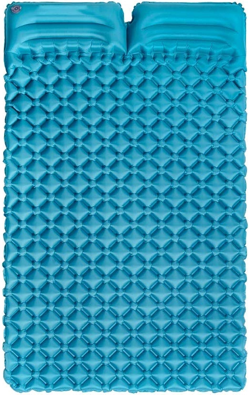 CQDBFQY CQDBFQY CQDBFQY FH Ultraleichte, Tragbare Doppelkissen Eiernest Schlafsack, Outdoor Zelt Schlafsack Isomatte, 185 × 115 × 5 cm B07NWFK193  Rich-pünktliche Lieferung 8c0aac