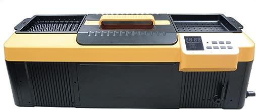 iSonic P4890(II) Commercial Ultrasonic Cleaner, Plastic Basket, Heater, Drain, 110V, 2.3Gallons / 9 Litre, 25.5