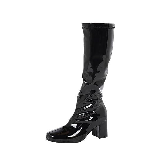b9828a278fb ByPublicDemand Krista Womens Mid Block Heel Knee High Boots
