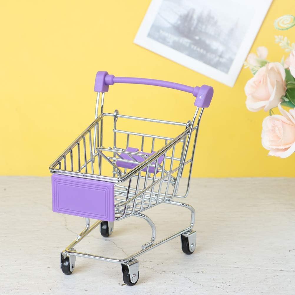 1 PC Mini Metal Max 55% OFF Shopping Handcart Kid's Max 89% OFF Trolley Supermarket Cart