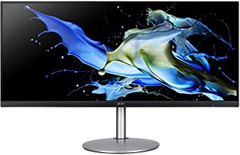 "Acer CB342CK smiiphzx 34"" UltraWide QHD (3440 x 1440) IPS Zero Frame Monitor with AMD Radeon FREESYNC Technology - HDR Rea..."