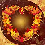 1000 Pieces 3D Classic Puzzle-Autumn Foliage Template Greeting Card-Children'S Educational Toy Games Adults Challenge Impossible Puzzles-(38X26Cm)