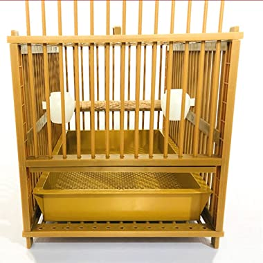 QTBH Flight Cage Bathing Cage Bird Cage Rectangular Parrot Cage Plastic Household Bird Cage Starling Parrot Bathing Cage Made