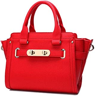 Yyqt Ladies Fashion Bag,Middle Size Soft Pu Leather Shoulder Bags, Multifunctional Crossbody Bags