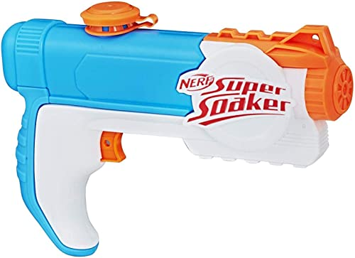 NERF Super Soaker - Piranha Water Blaster - 177ml Capacity - Outdoor holiday games and Toys for Kids, Boys, Girls - A...