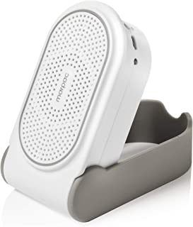 Marpac Yogasleep Portable Noise Machine for Travel Soothing, Natural Sounds with Volume Control Compact Sleep Therapy for Adults & Baby, USB Rechargeable, White, Go, 1 Count