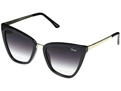 QUAY AUSTRALIA Reina (Black/Fade) Fashion Sunglasses