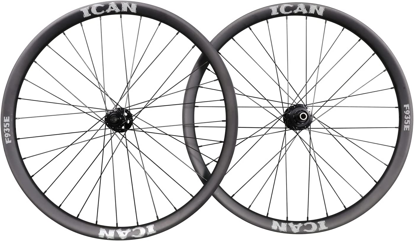 ICAN F935E Ranking integrated 1st place Sale special price 29er Mountain Bike Carbon Enduro Tu Clincher Wheelset