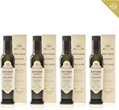 Entimio Audace | Medium-Robust Organic Olive Oil Extra Virgin | 2018 Harvest Italian Olive Oil from Italy, Tuscany, 2019 Gold Award | First Cold Pressed, Rich in Antioxidants | 33.8 (4 x 8.5) fl oz