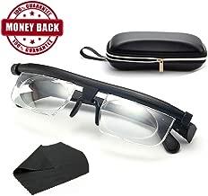 ⭐⭐⭐⭐⭐Instant 20/20 Adjustable Glasses - High Quality Unisex Adjustable Eyewear Instant 20/20 Vision 4 Once Non Prescription Lenses Reading Driving Eyeglasses