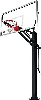 Goalrilla -Ground Adjustable-Height Basketball Hoop with Tempered Glass Backboard