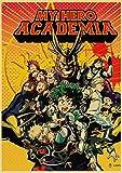 LDTSWES Rompecabezas Janpanese Anime Puzzle, Wooden Hero Academia HD DIY Jigsaw Puzzle, para niños Intelectual Game Puzzle 1000 Piezas