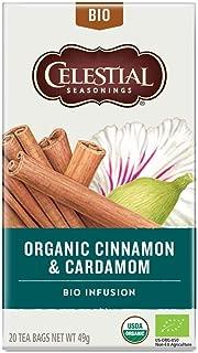Celestial Seasonings Organic Cinnamon & Cardamom Tea 20 Bags
